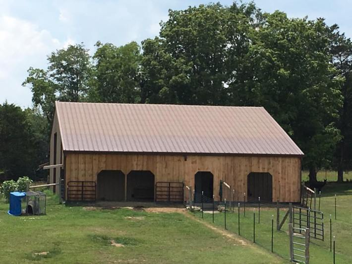 Barn completion