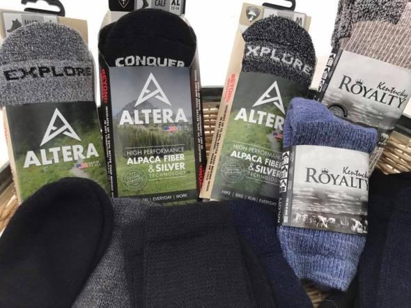 Alpaca socks $15-25